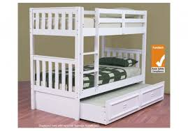 Jester Trio Timber Bunk Bed Custom Made Option - Timber bunk bed