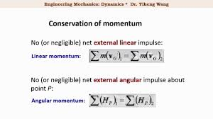 2015 dynamics 34 impulse and momentum for rigid planar