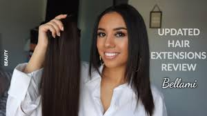 bellamy hair extensiouns updated honest bellami hair extensions review tutorial youtube