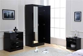 Mirrored Bedroom Furniture Black Gloss Mirrored Bedroom Furniture Video And Photos