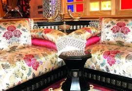 couvre canapé marocain housse canape marocain sedari pour salon marocain housse canape