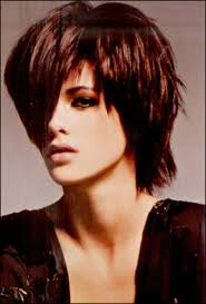 short hair cuts with height at crown fringe element layered short haircut