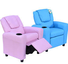 kids recliner sofa children u0027s faux leather sofas and armchairs ebay