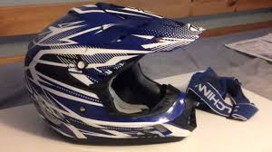 motocross helmet and goggles hd helmet thh tx12 bolt and duchinni goggles youtube