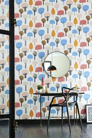 best 25 retro wallpaper ideas on pinterest 1950s house modern retro tree wallpaper design from the scion noukku collection