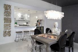 Clear Dining Room Table Lovable Design For Lucite Dining Chairs Ideas Clear Dining Table