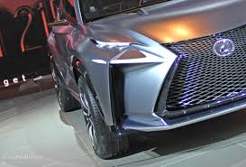 lexus lf nx interior lexus lf nx turbo concept lands in detroit live photos