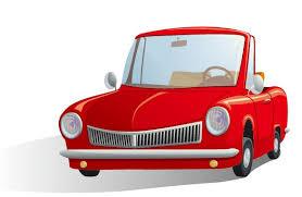 cartoon convertible car cartoon automotive illustrator vector material my free photoshop