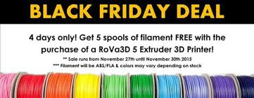 true meaning of black friday 3ders org black friday and cyber monday 2015 3d printer deals