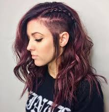 ponytail haircut for me shaved sides 50 women s undercut hairstyles to make a real statement
