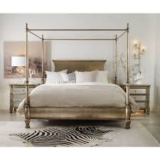 furniture melange montage poster bed with canopy king