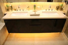 LEDlightingunderthebathroomcabinetjpg - Bathroom cabinet lights