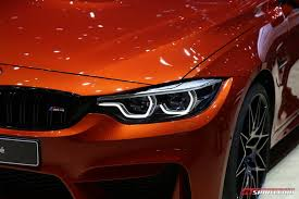 bmw m4 headlights geneva 2017 bmw m4 facelift gtspirit