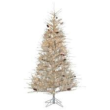 target white christmas tree lights 7ft pre lit artificial christmas tree full buttercream frosted
