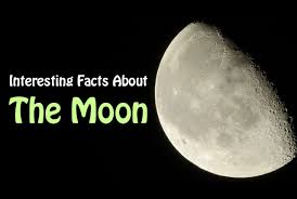 interesting facts about the moon did you science