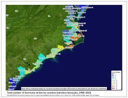Southeast Us Map Tropical Cyclone Climatology