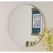 round bathroom vanity mirrors for less overstock com