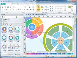 circular diagram software free circular diagram examples and