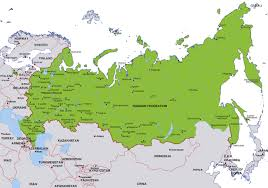 russia map border countries russia map border