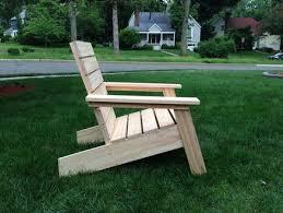 modern adirondack chairs outdoorlivingdecor