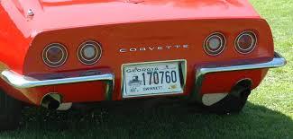 1979 corvette tail lights the corvette story 1969 corvette