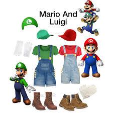 Halloween Costumes Luigi Matching Bestfriend Halloween Costumes Mario Luigi
