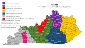 Kentucky Counties Map Find Your Counselor Admissions Eastern Kentucky University
