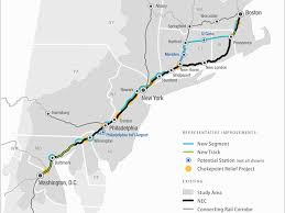 Amtrak Status Map by Northeast Rail Report Proposes 2 More Amtrak Stops In Philly