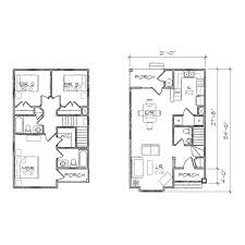 bungalow floor plans for narrow lots
