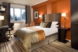 bedroom colors orange