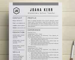 creative professional resume template easy to by simplecleanresume