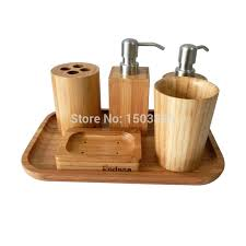 wooden bathroom accessories set white wood accessory that let you