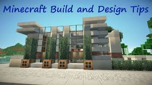 Modern Fence Minecraft Build And Design Tips Fences Youtube