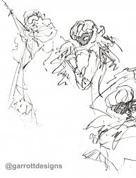 fashion burlesque sketch night nyc garrott designs