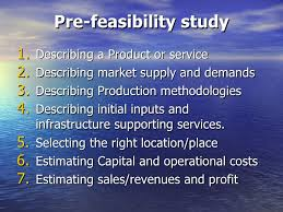 how to prepare innovative feasibility study in transitional economy