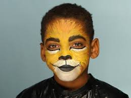 Zebra Halloween Makeup by Kid U0027s Halloween Makeup Tutorial Lion Lions Costume Makeup And