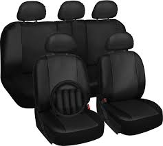 nissan altima for sale with leather seats new nissan altima faux leather black seat cover w steering wheel