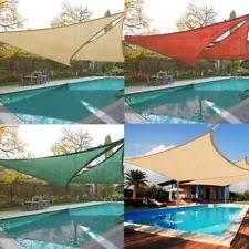 Sail Patio Cover Garden U0026 Patio Shade Sails Ebay