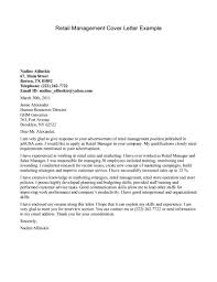 doc 8001036 sample retail cover letter template example