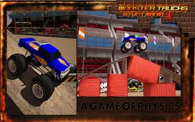 bigfoot monster truck games monster truck stunt parking 3d android apps on google play