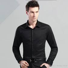 haute couture dress shirt long sleeve men shirt contracted joker