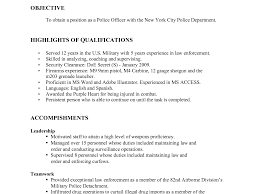 cover letter police officer military to civilian cover letter cover letter usajobs resume