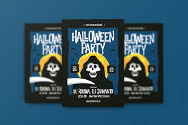 free halloween flyer background 20 halloween party flyer templates 2017 psd file