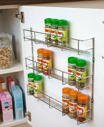Kitchen Cabinet Door Spice Rack The Best Cabinet Door Spice Rack Pic For Organizer