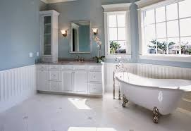 bathroom design images bathroom beautiful bathroom design with blue walls and white leg