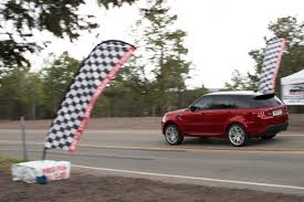 modified 2015 range rover new range rover sport sets new pikes peak records for production