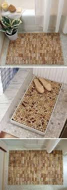 tappeto con tappi di sughero d礬corer avec des bouchons en li礙ge 30 id礬es pour vous inspirer