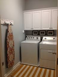 Cabinets For Laundry Room My New Laundry Room Paint Benjamin Pale Smoke Cabinets