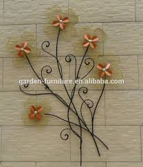 wholesale craft home decor wrought iron sculpture wall metal