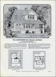 The Yale Kit House Floor Plan Made By The Aladdin Company In Bay House Floor Plan Kits